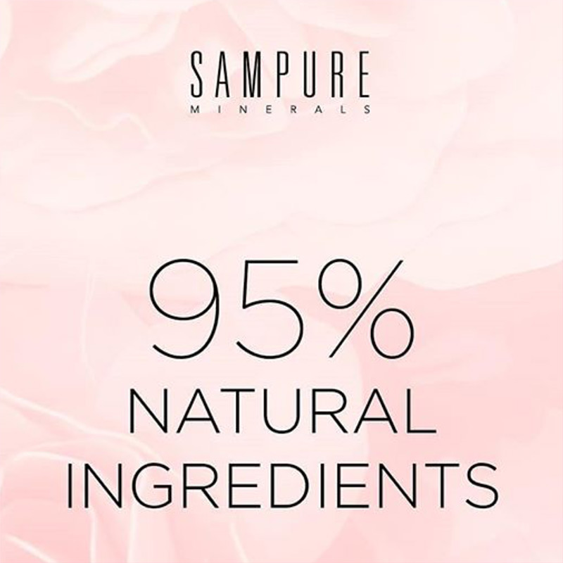 Sampure 95% Natural Ingredients
